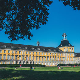 The mean building of the University Bonn