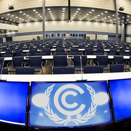 Large hall in the World Conference Center Bonn